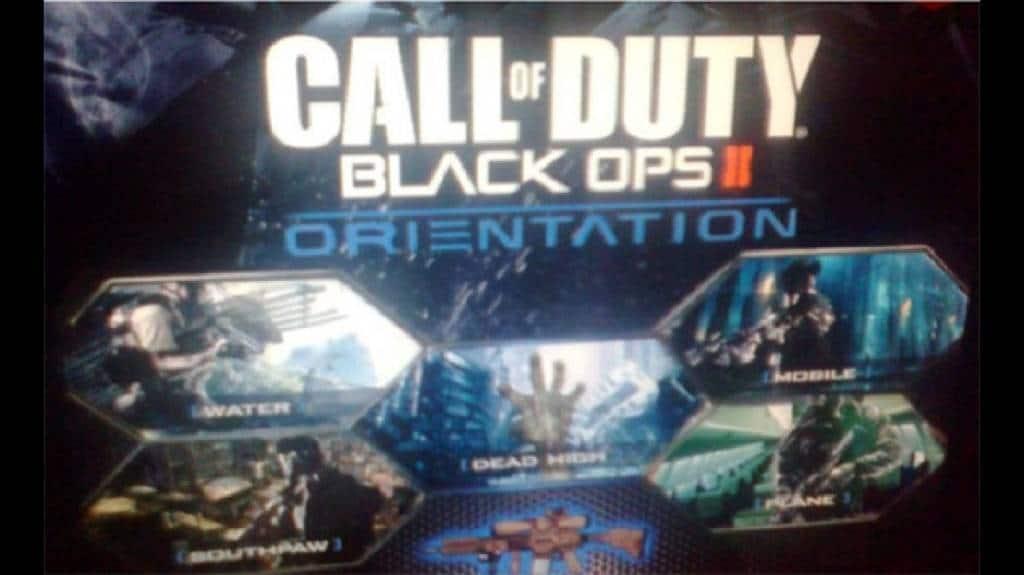 Black Ops 2 Orientation
