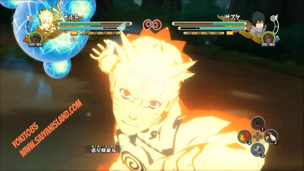Naruto Storm 3 Planetary Rasengan