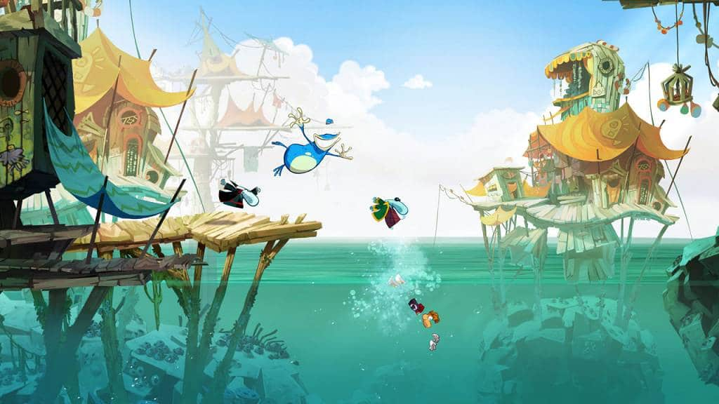 Rayman Origins Screen 1