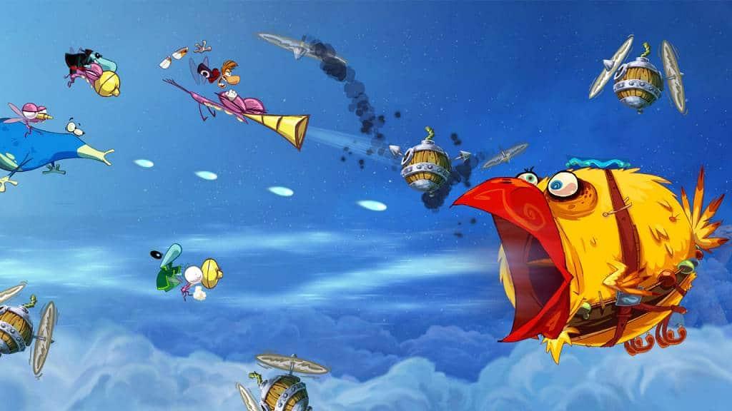 Rayman Origins Screen 2