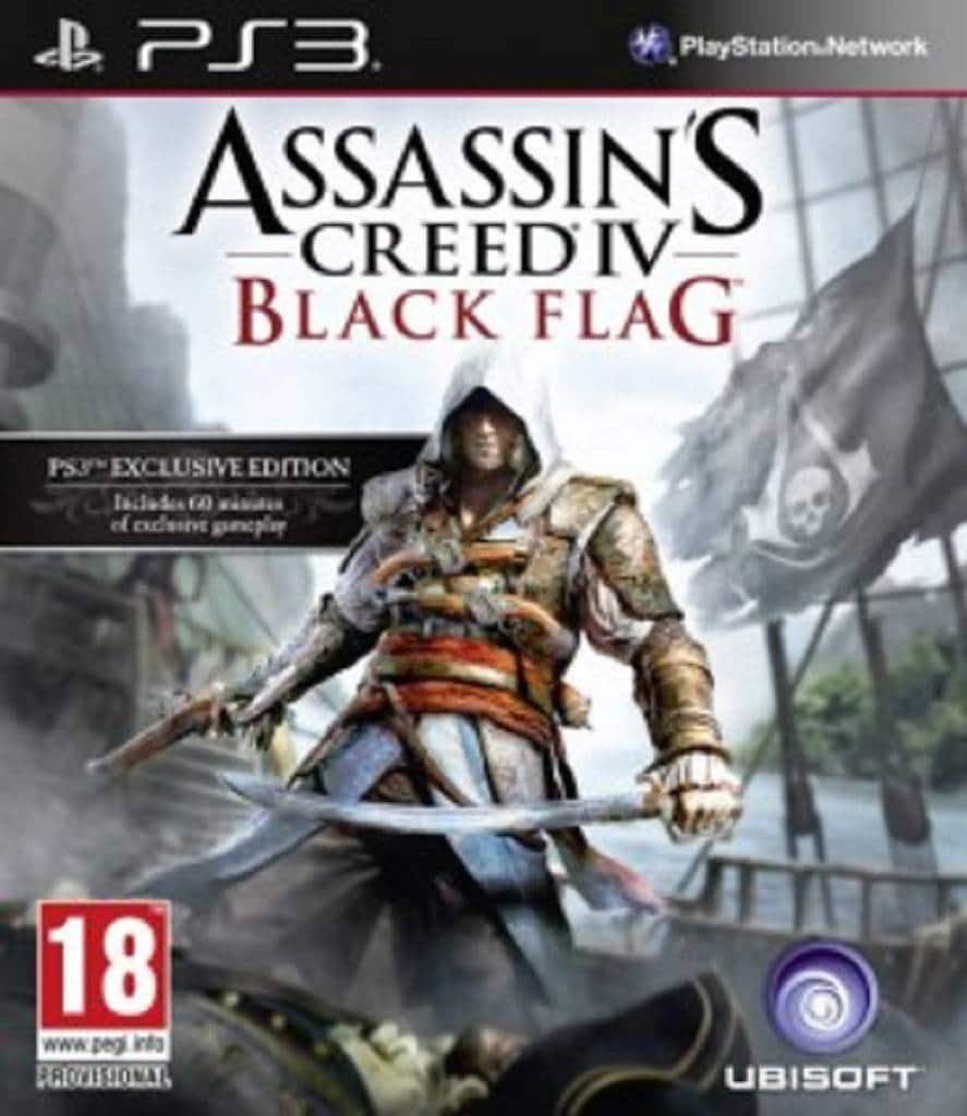 Assassins Creed 4 Black Flag Packshot