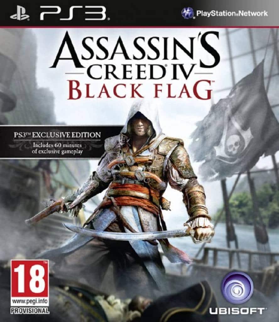 Assassins Creed 4 Black Flag Packshot