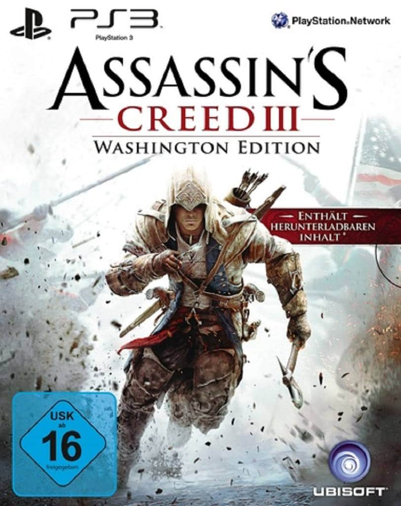assassins creed 3 washington edition cover