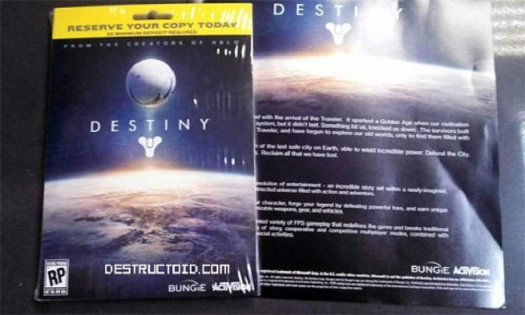 destiny flyer