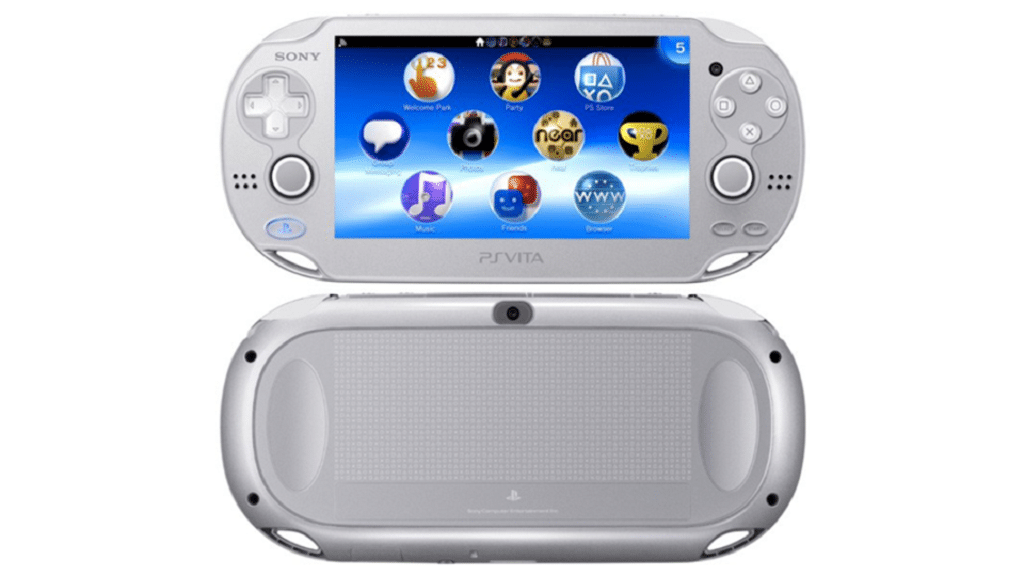 PS Vita Ice Silver Farbvariante