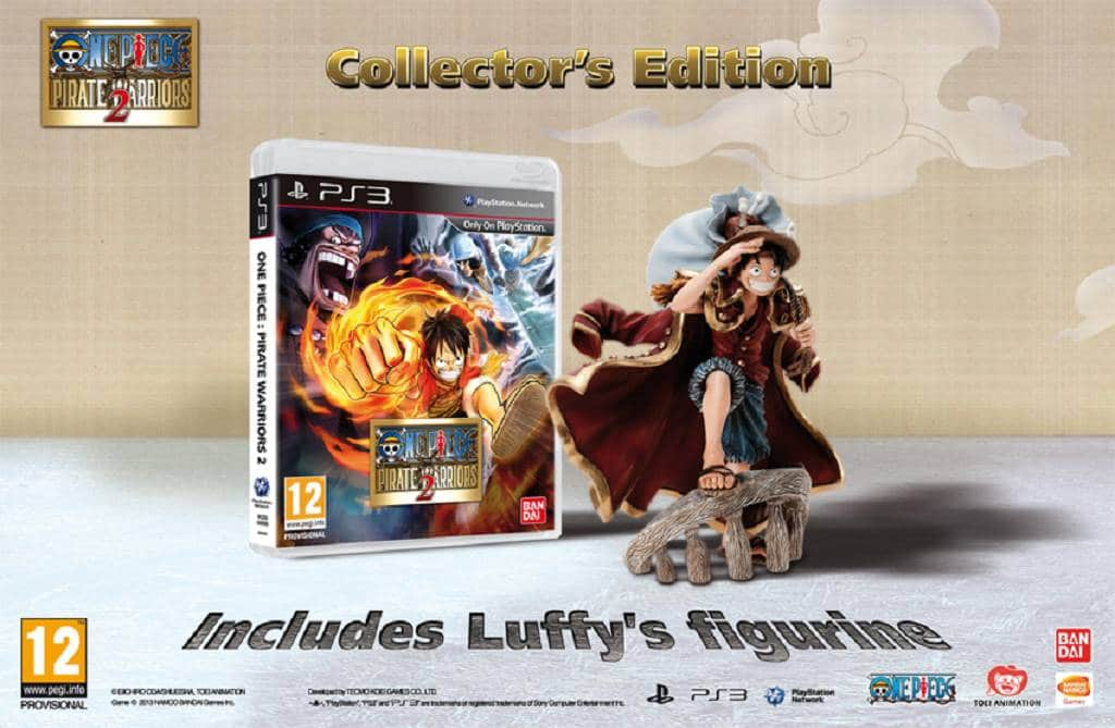 Collector's Edition One Piece pirate warriors 2