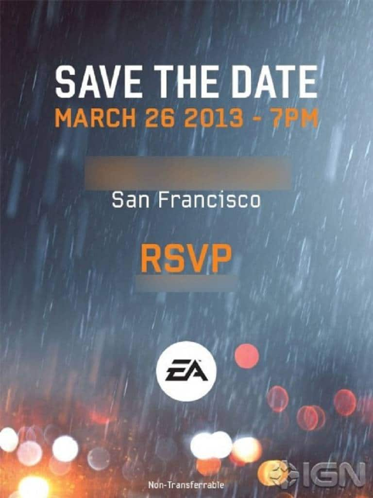 battlefield 4 IGN Invite