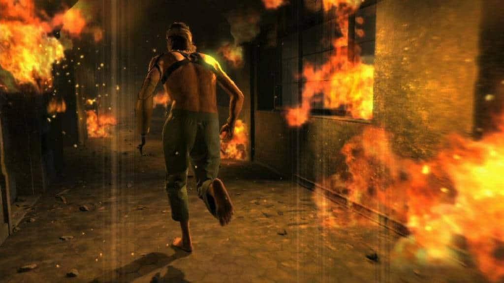 Metal Gear Solid Flucht