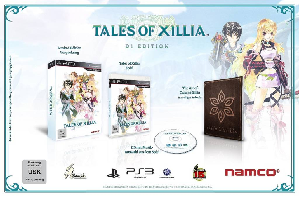 Tales of Xillia Milla Maxwell Collectors Edition