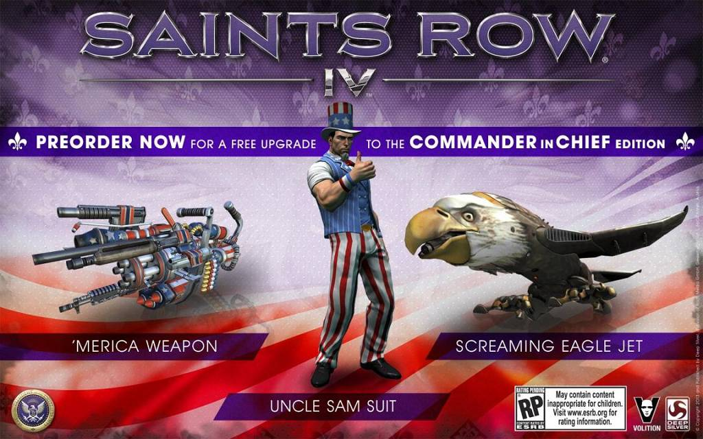 Saints Row 4 Edition