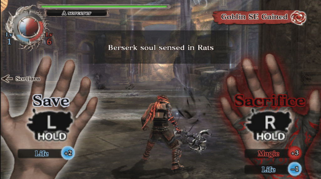 Soul Sacrifice Screenshot 1