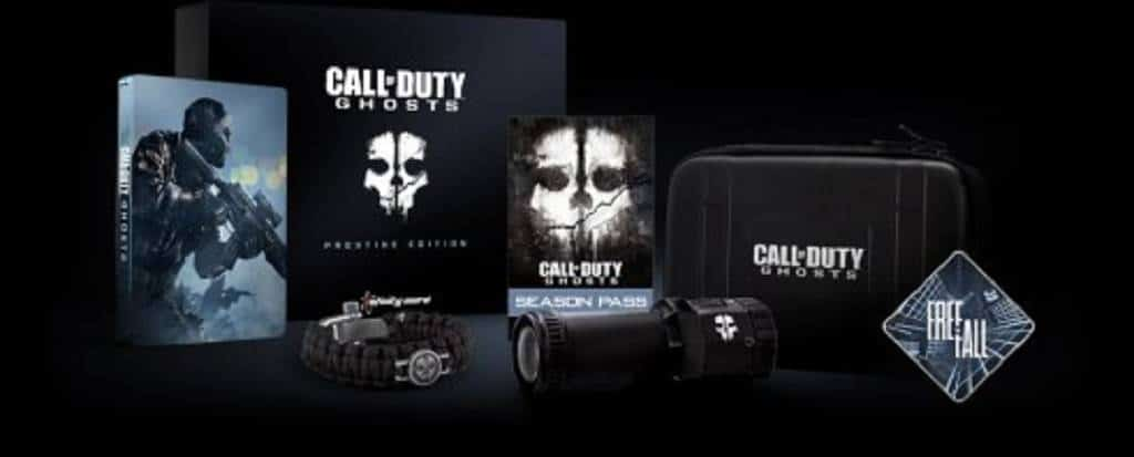 Call of Duty Ghosts edition