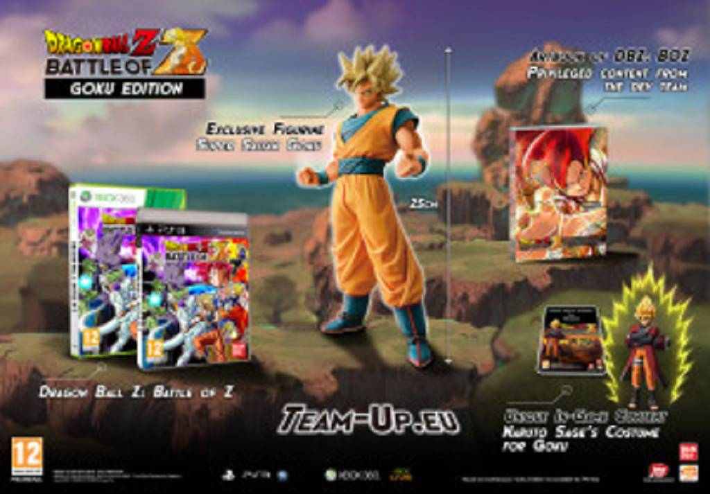 Collector's Edition zu DRAGON BALL Z BATTLE OF Z angekündigt