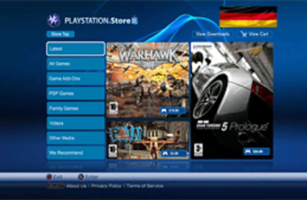 Store Update Deutsch ps4info