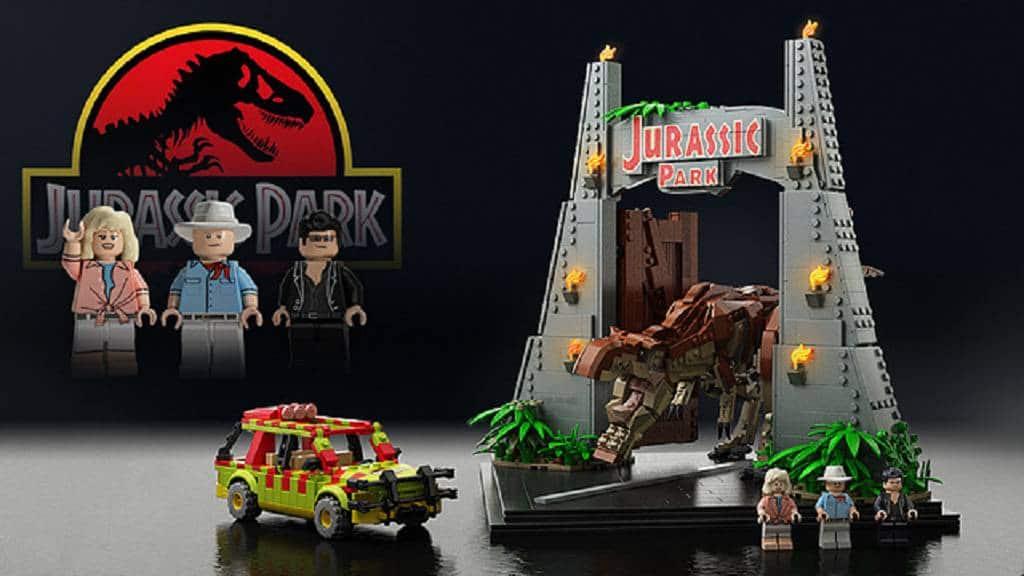 Lego Jurrasic Park