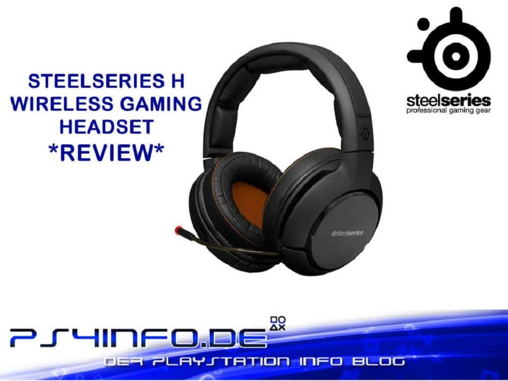 So macht das Zocken auf den Ohren SPAß – SteelSeries H Wireless Gaming Headset Review