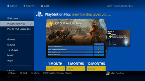 PS4-store