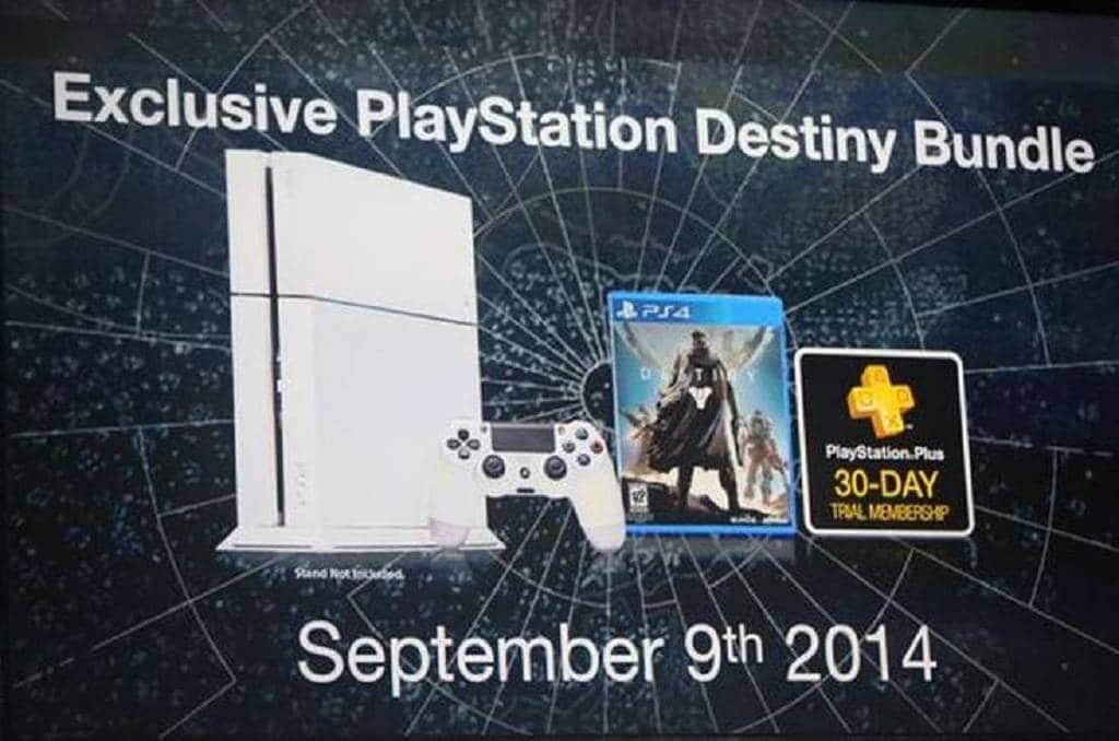 destiny playstation 4 bundle