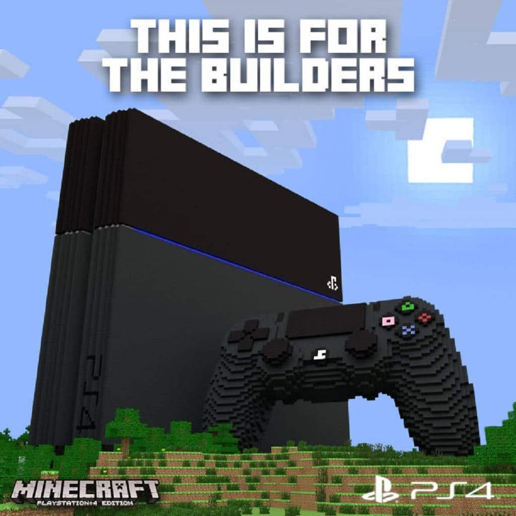 Minecraft Patch Für PS PS Und PS Vita PlayStation Info - Minecraft spiele fur ps4