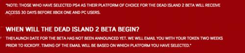 Dead Island 2 Beta