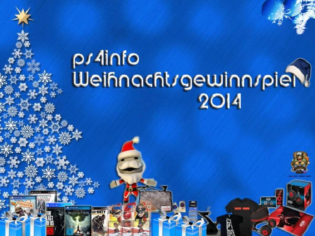 ps4info Weihnachtsgewinnspiel 2014