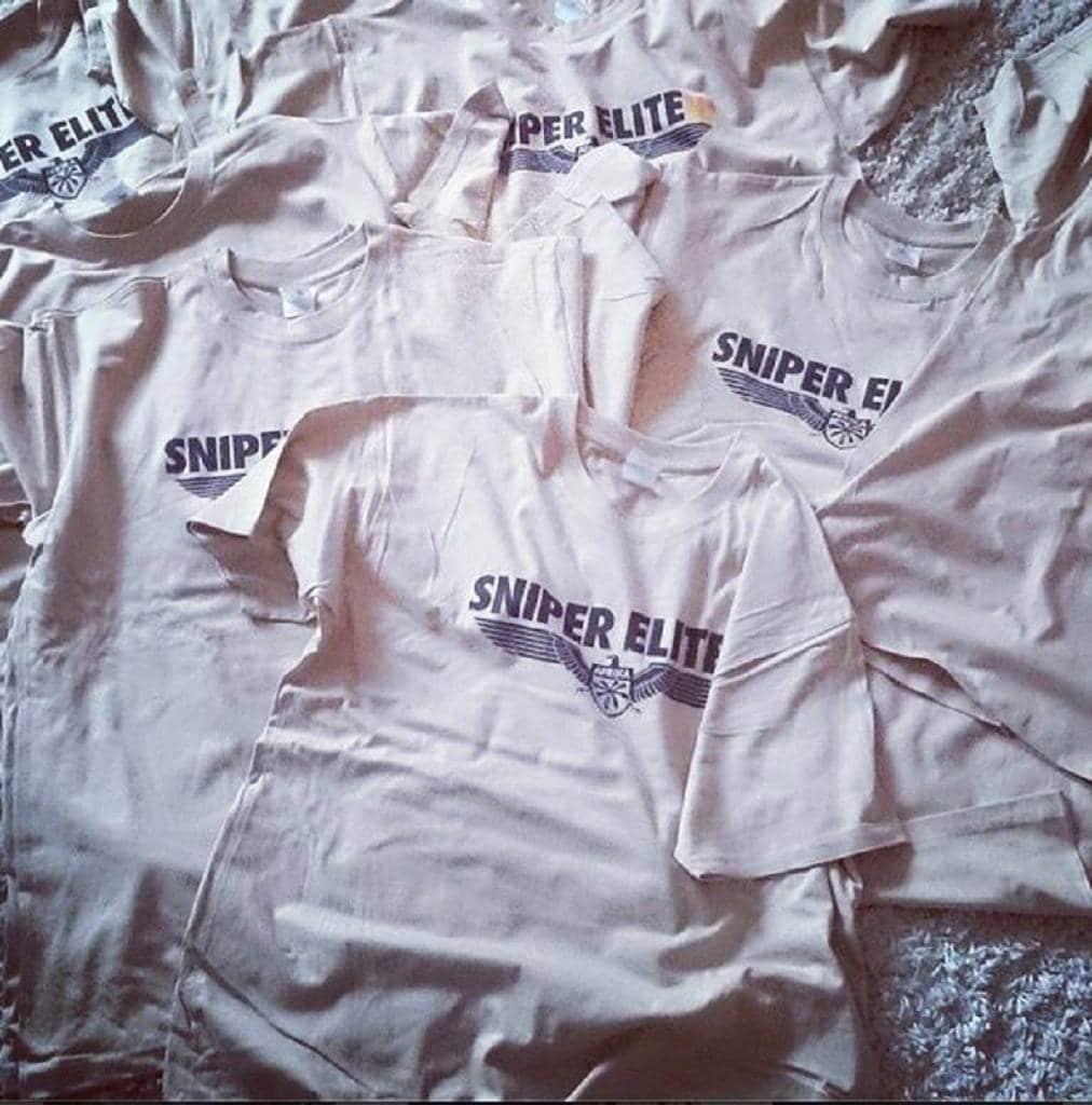 sniper elite shirt