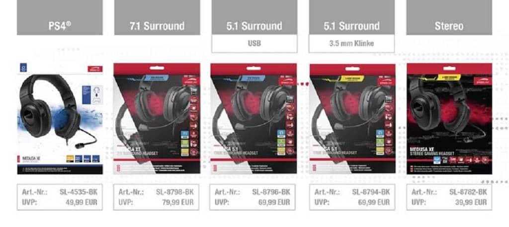 MEDUSA-Sound für die Playstation 4