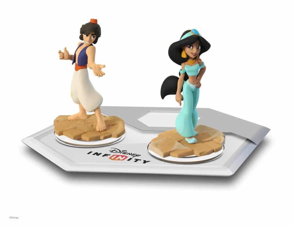 Aladdin&Jasmine_Figuren