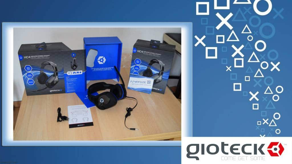 Gioteck HC2 Wired Stereo Headset - Unboxing - PS4