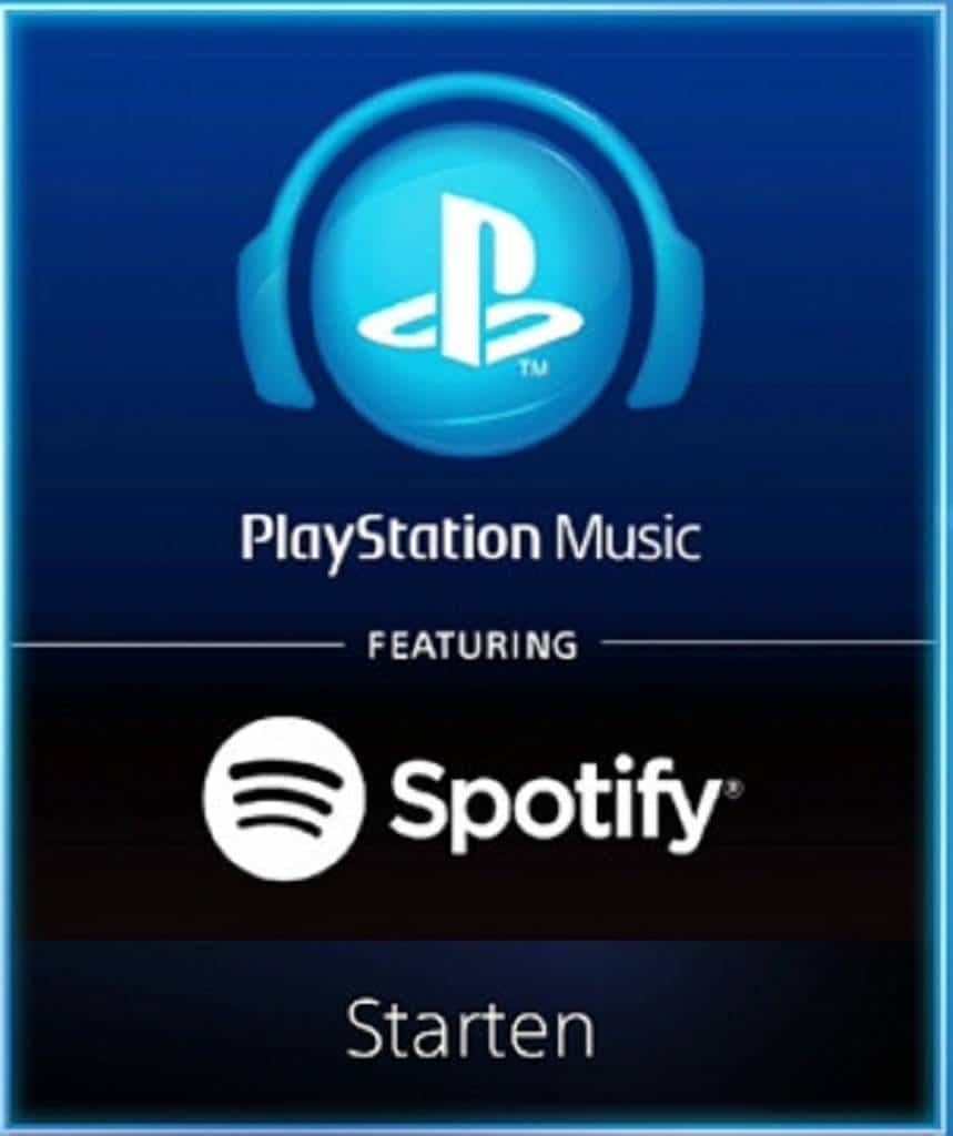 PlayStation Music Spotify 2