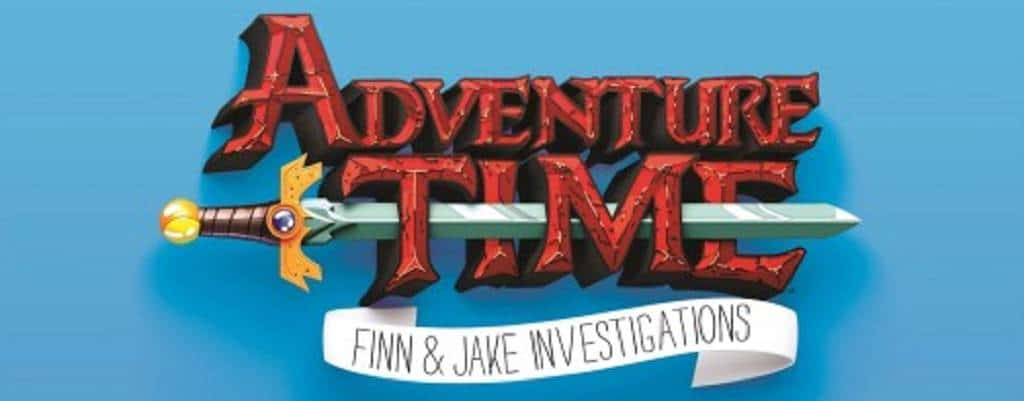 Adventure Time Finn and Jake Investigations LOGO 2