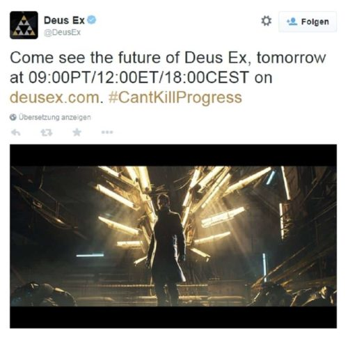 Deus Ex Mankind Divided Twitter
