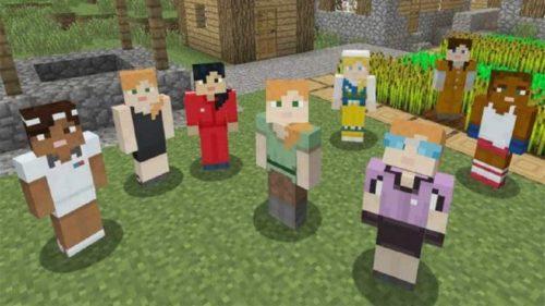 Minecraft weiblicher Skin