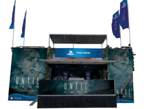 Until Dawn Presse Truck