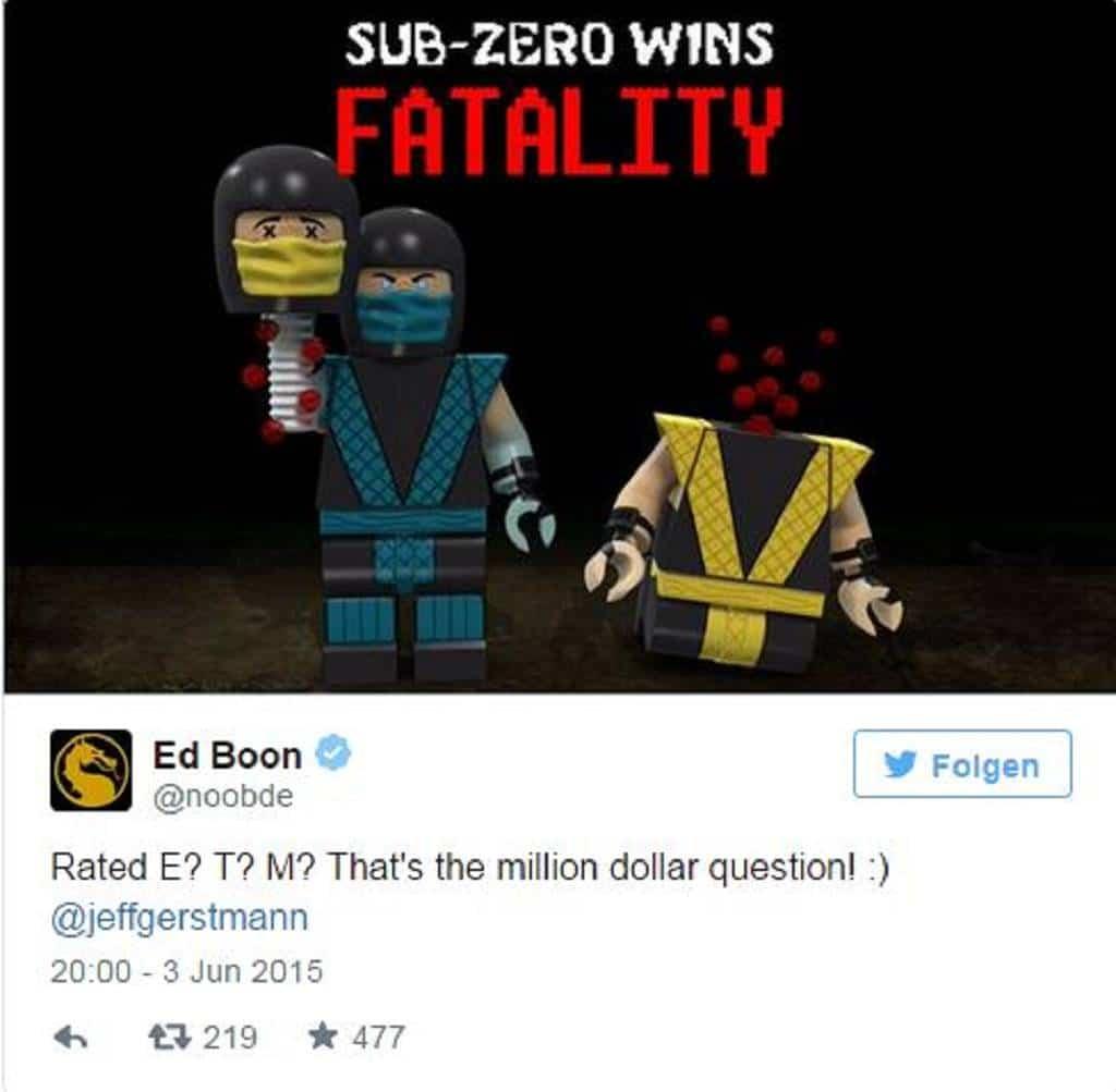Mortal Kombat Lego