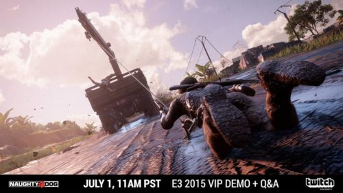 Uncharted 4 E3 Demo Stream