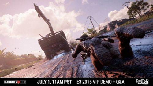 Uncharted 4 E3 Demo Stream
