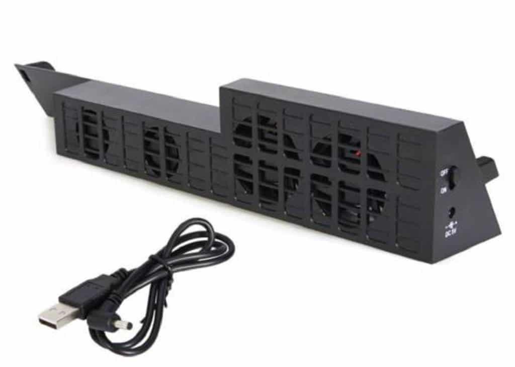 PlayStation 4 Kühler Lüfter Ventilator schwarz (1)