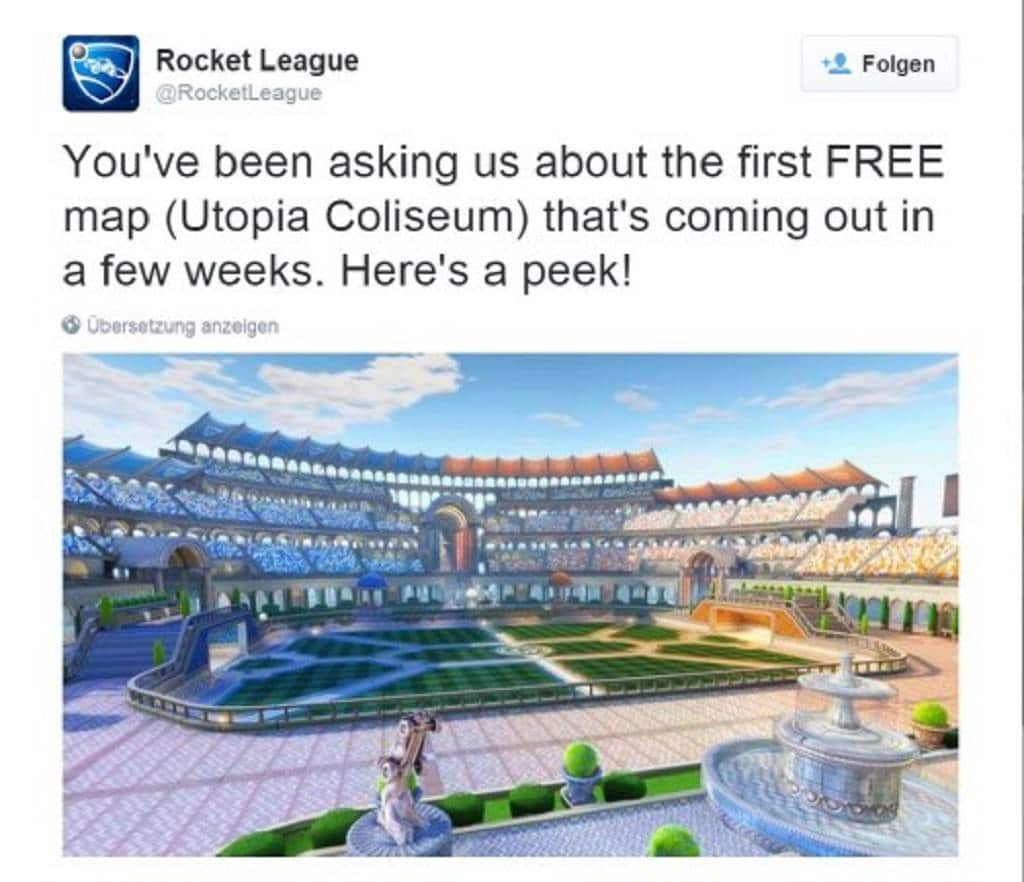 Rocket League New Map