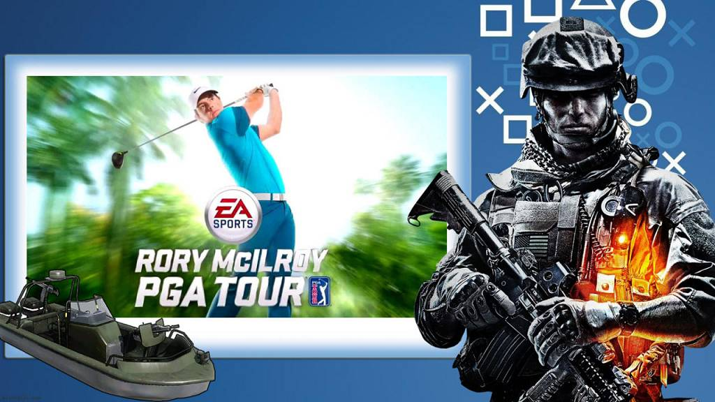 Rory Mcilroy PGA Tour 2015 l Battlefield 4 Parcel Storm Golf Course #PS4