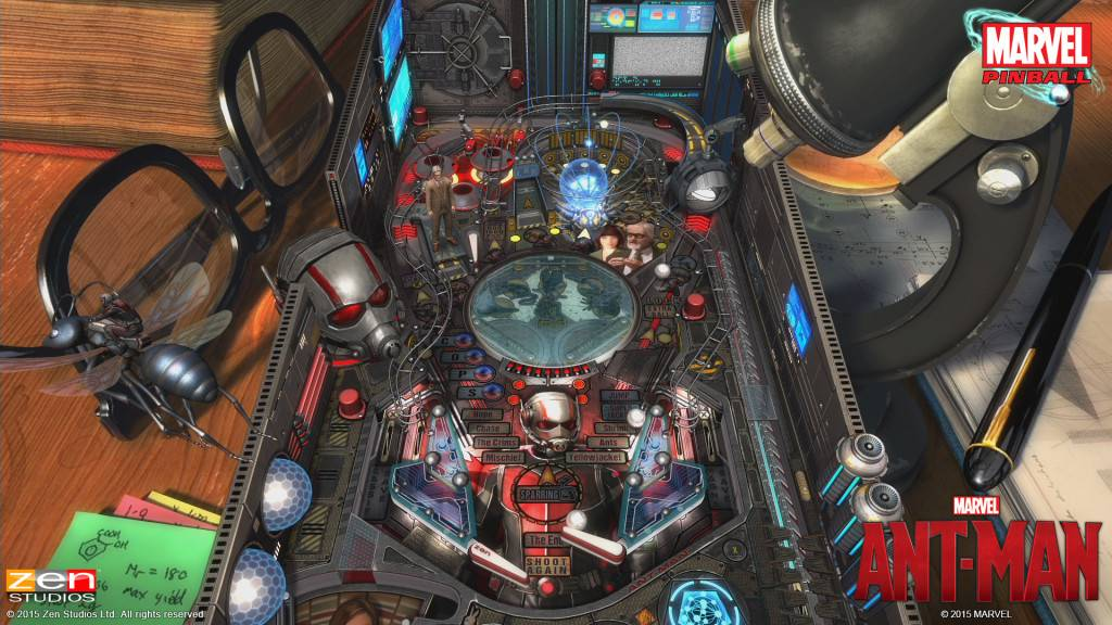Zen Pinball 2 - Marvels ANT MAN (1)