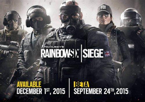 Rainbow Six Siege Verschiebung
