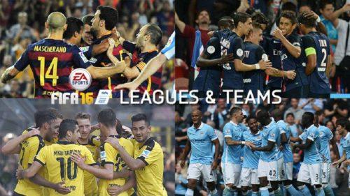 Fifa 16 Ligen