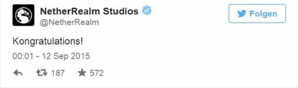 Mad Max Mortal Kombat Twitter