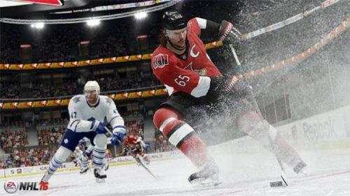 NHL 16 Schnee