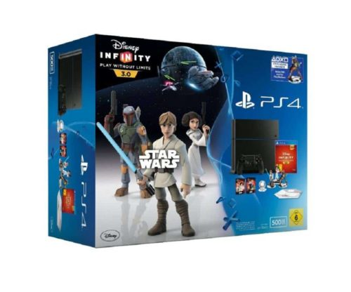 PlayStation 4 Konsole inkl Disney Infinity 3 0 Unboxing