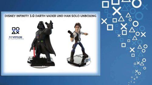 Disney Infinity 3.0 Darth Vader und Han Solo Unboxing
