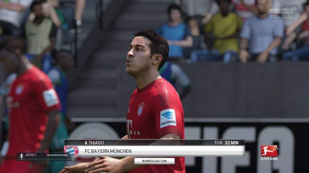 FIFA 16 Match Day Live 0:3 BRE : FCB, 1. HZ