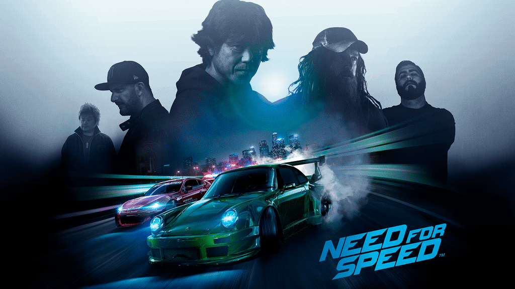 NEED FOR SPEED PS4 Poster