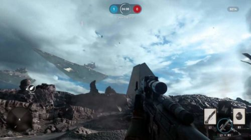 Star Wars Battlefront Beta PS4